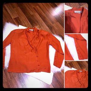 🦋2/$10 3/$15 4/$18 5/$20 Vintage Rayon Blouse